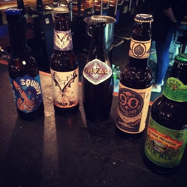 Lots of new bottles too! @SierraNevada @OdellBrewing @FlyingDog @HardKnott & Orval