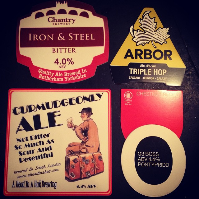 Coming soon! @aheadinahat @otleybrewingco @arborales @chantrybrewery
