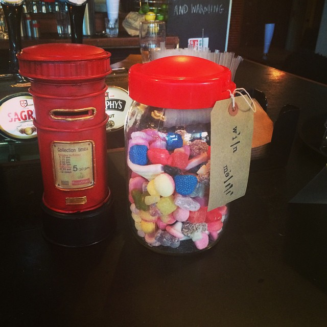 We're having a little competition to support our Senior Citizens Christmas Lunch. Guess the number of sweets to win the whole jar!