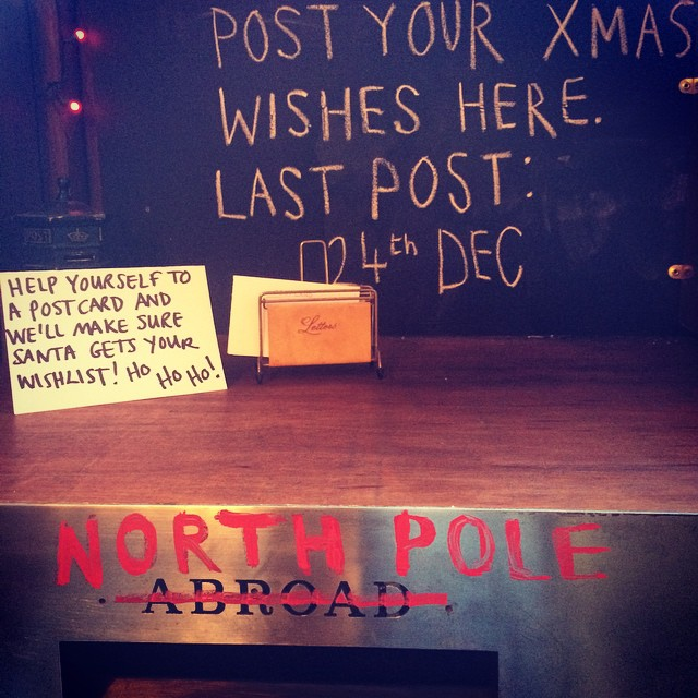 Post your letters to Father Christmas at the Sylvan Post ?