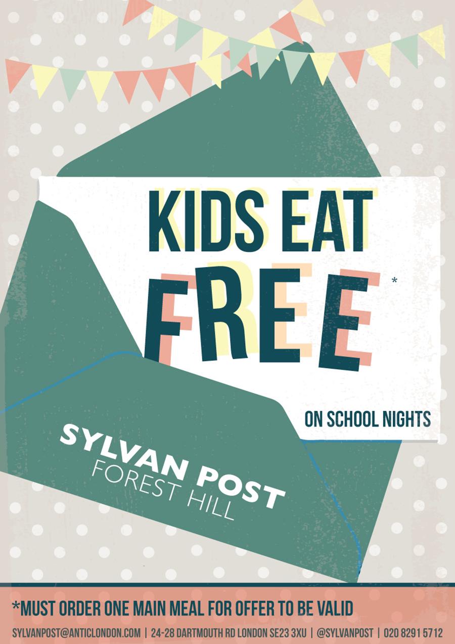 Kids Eat Free on School Nights